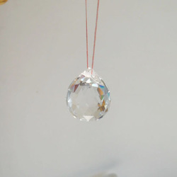 "Free Shipping! 8x 20mm Clear FengShui Hanging Faceted Glass Crystal Ball Sphere Rainbow Prism 0.78""(China (Mainland))"