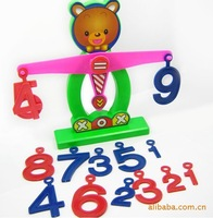 new arrival plastic bear libra mathematics educational tools a good toy for math learning Educational Toys Free Shipping