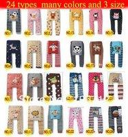 Free shipping 47 Style 5pcs/lot  BUSHA Baby Pants kids Baby Clothing Leggings Cotton PP Pants Baby Pant Kids' Legging