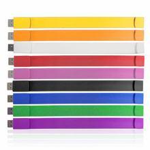 wholesale silicone bracelet usb