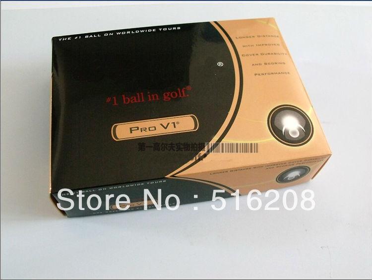 Q869 free shipping 10 Dozen brand golf ball with original box (12 balls in one box) golf product(China (Mainland))