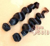 6a Grade hair products Malaysian Loose wave hair 1pcs/lot  100% virgin hair extension  1B color DHL free shipping
