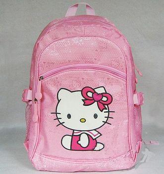 School bag Hello Kitty burden Backpack Bag+Free shipping