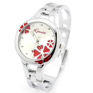 Women's Quartz Watch 2013 Fashion Student Four Leaf Clover Table Bracelet Wristwatch 425 Free Shipping(China (Mainland))
