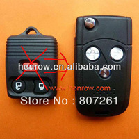 High quality, good service and best price Ford 3 button flip remote key blank