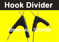 Free Shipping! 50pcs/lot Hook divider for fishing,hook divider,rubber 11mm