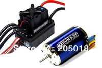 Free shipping HOBBYWING EZRUN 5.5T 6000KV RC Model Brushless Motor & WP60 60A ESC Combo