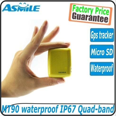 Wholesale price mini waterproof GPS personal tracker MT-90 can be working underwater(China (Mainland))