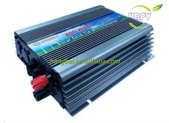 Single Phase On Grid Solar Panel Inverter 400W 220V AC 60HZ