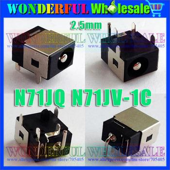 Freeshipping 2.5mm Laptop DC Power Jack for ASUS N71JQ N71JV-1C