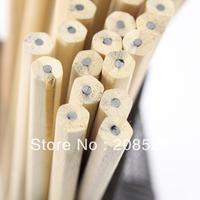 JJ333 free shipping(200pcs/lot) 7'' hb pencil natural wood hexagonal shape pencil eco pencil for student