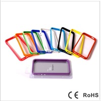 Free Shipping for iphone 5 silicone phone border    Enhanced signal  Feel good  10 colors