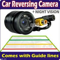 CAR Rear View Parking Reverse Bumper Camera LED Sensors