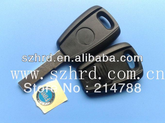 Good salescar key. Fiat 1 button remote key shell(BLACK).key cover.car key(China (Mainland))