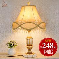 Vintage fashion table lamp rustic brief bedroom bedside lamp living room lights table lamp 5566