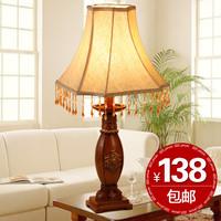 Fashion vintage resin pendant study lamp ofhead lamps royal wind lighting