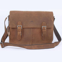 Портфель MOK New Genuine cow leather briefcase handbag business and leisure men messenger bag Genuine leather men's bags V102501