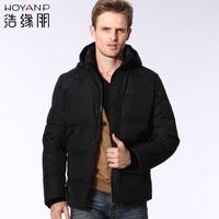 Male short design down coat male Men casual men's clothing