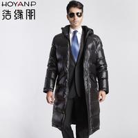 Long design male down coat male casual commercial Men men's clothing
