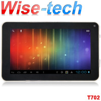 free shipping singapor post ! 7inch tablet pc allwinner a13 dual camera  T702 android 4.0.4 512MB/4GB WIFI/emma