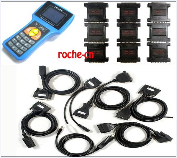 2013 T300 key programmer Newest version V12.01 universal car key transponder+one year warranty--(41)(China (Mainland))