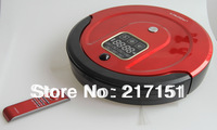 Free to Singapore by TNT! Large Dustbin and Long Working Time LR-350R Wet and Dry Robot Vacuum Cleaner with Virtual Wall
