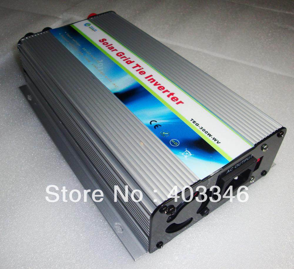 300W 22V-60VDC to 190-260v AC On Grid Solar Inverter(China (Mainland))