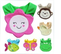 In Stock 20pcs/Lot  Waterproof Carter's Bibs/ Carter's Animal Special Cute Bibs Free Shipping Free Size High Quality Fast Ship