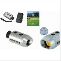 Digital 7x Golf Range Finder Scope Rangefinder with Padded Case