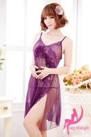Free Shipping Wholesale Sexy Lingerie Sex Doll 2013 Dress Women Sexy costume plus size  Sleepwear New Hot underwear Lace Dresses