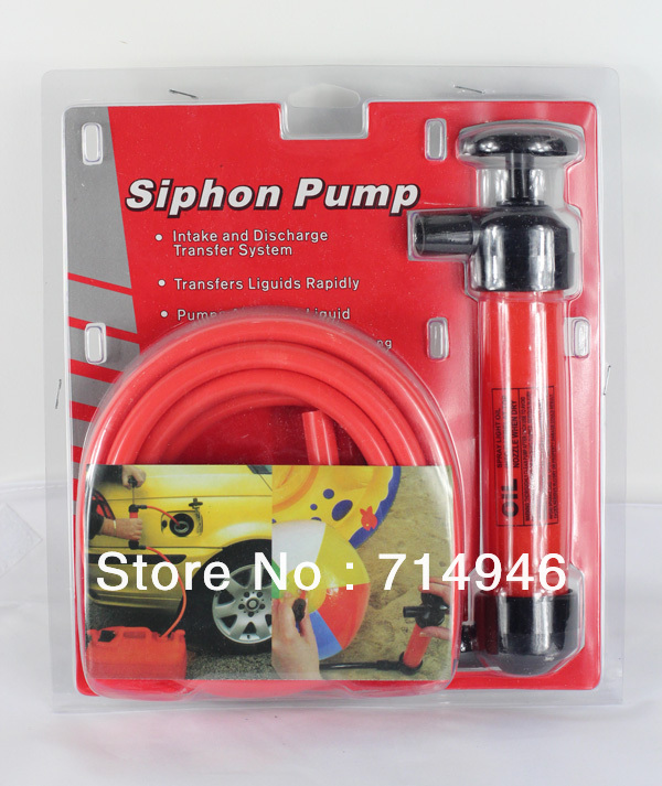Free shipping: New 200cc Siphon Pump, Fluid Pump, Transfer Water Oil transfer Hand Air Pump 5L/min(China (Mainland))