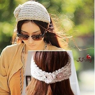 2pcs Fashion Women Girl Lady Headband Hair band women Knit crochet Headwrap