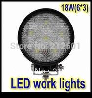 Super bright 18W High Power LED  tractor offroad LED work light,working lamp,Fog light kit