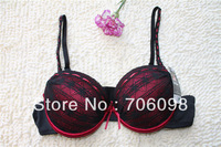 Free shipping adjustable sexy padded push-up lady bra Sexy Bras