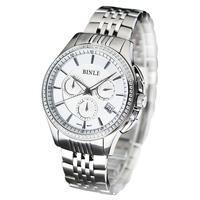 Free shipping BENTLEY binli watch male watch quartz watch fashion table fashion table waterproof