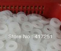 50/pk Strandard Metric Nylon Flat Thick Washers M3(ID) x 8(OD) x 1mm Thick