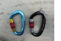 Wholesale Price 3pcs/lot  Aluminum 7075 Carabiner mountaineering carabiner 25KN  Quick Link Climbig Product  Free Shipping