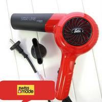 free shipping imported Solis professional black white ionic hair dryer 1800W European plug