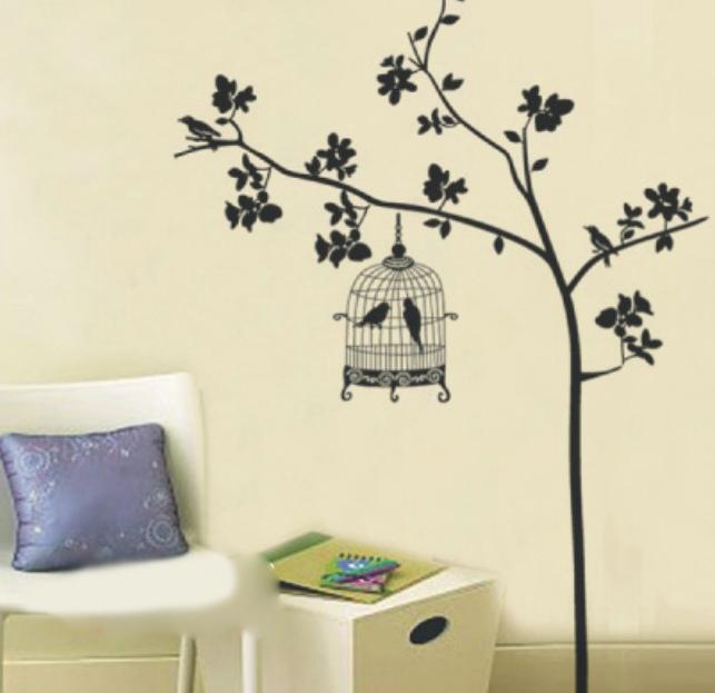 ... black tree wall stickers info ...