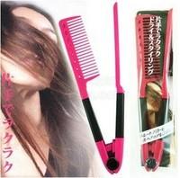 Free shipping  100pcs/Lot Brazilian keratin treatment Grip Straightening V Comb NIB OPP Bag