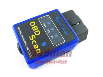 Works on Android Torque ELM327 v2.1 Mini ELM327 Bluetooth V2.1 OBDII/OBD2  Auto Car Diagnostic Scanner OBDII