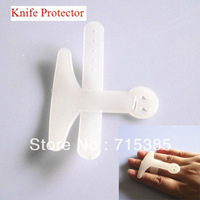 Free Shipping 10pcs Knife Cut Vegetable Palm Rest Finger Protector White