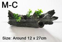 1pc - Aquariums decorations / Decorative Aqua-plant / M-C / Mid-Size Sunk Wood - for Aquariums Pond / Tank - Free Shipping