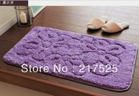 Superfine fiber high pile super absorbent bedroom/bathroom  skid resistant carpet/mat/door mat    floor mat   door mat