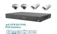 HD 4CH NVR Kit System---1 NVR3204-P + 2 IPC-HFW2100 720P IP Bullet Cameras  + 2 IPC-HDB3200C 1080P IP Dome Cameras + 2TB HDD
