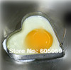 bubble pack 10pcs/Lot stainless steel heart egg fried device size 10.5*9.5*1cm  fried pans eggs kitchenware UH078