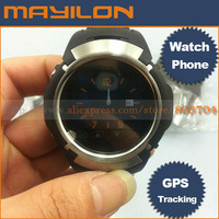 Free shipping ,mini cell phone,GPS tracking watch cell phone, GPS TRACKING Watch mobile phone