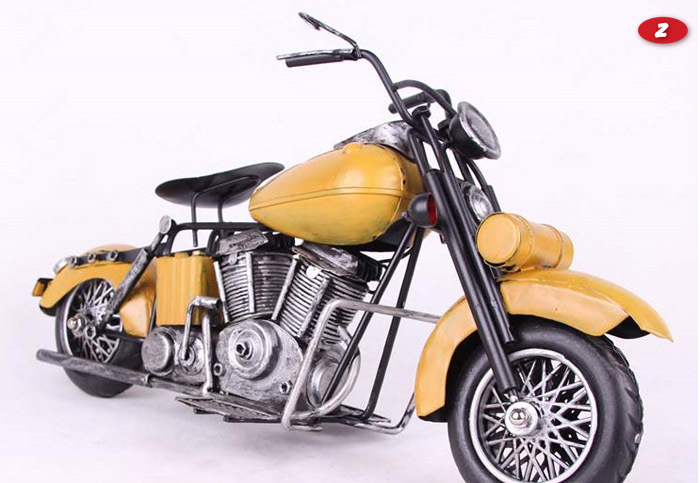 New arrival perfect three wheel steel motorbike model for hobbyist and devotee or as a birthday gift or as a souvenir(China (Mainland))