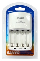 Free shipping Sanyo Philharmonic ordinary smart charger  charger the NC-MQN06 rechargeable batteries charger