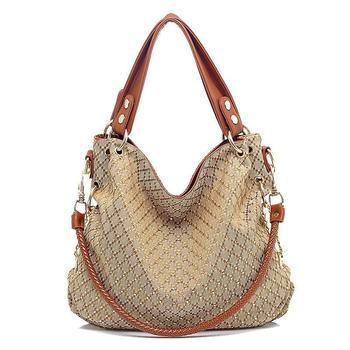 Quality Formal Casual Fasion Female Bags Canvas Handbag